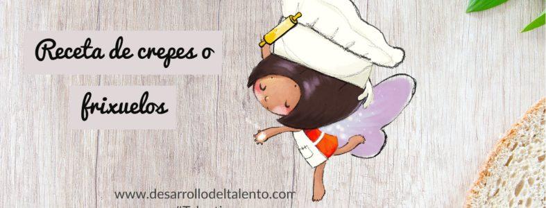 Receta para niños: crepes o frixuelos